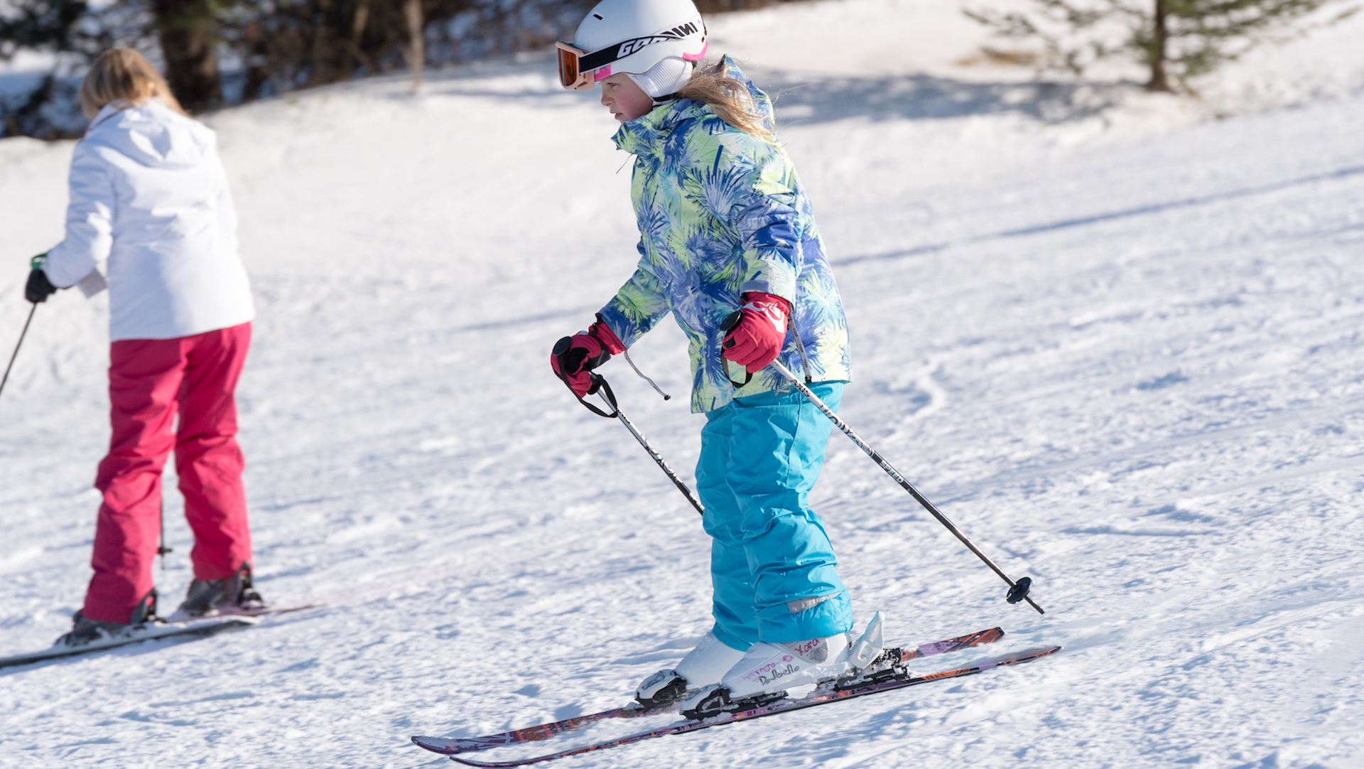 Kid Skier - Beginners Area