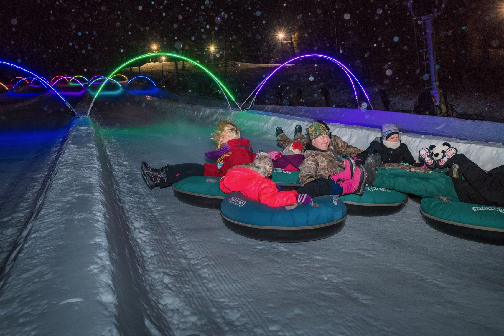 Tubing Park Updates for 2017-'18
