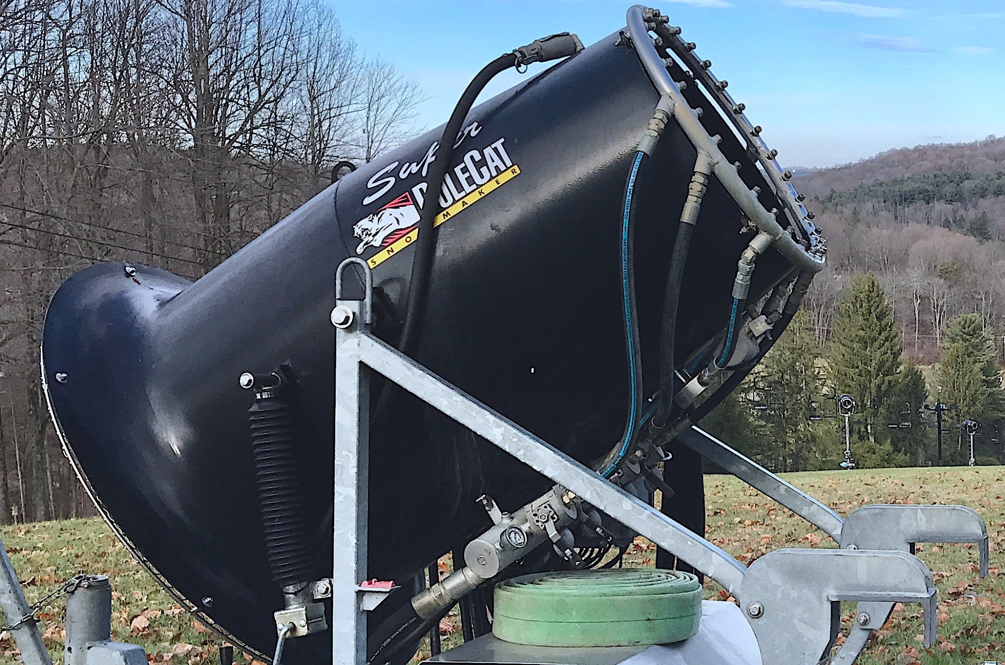 New Snow Guns at Snow Trails