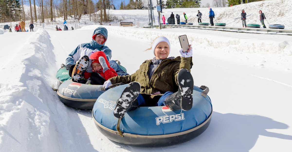 Opening Day - Tubing: </br>Friday, December 14th, 2018