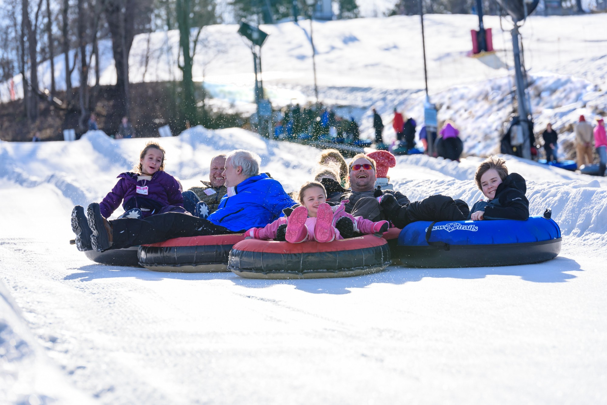 What A Fun Snow Tubing Season - Thank You!