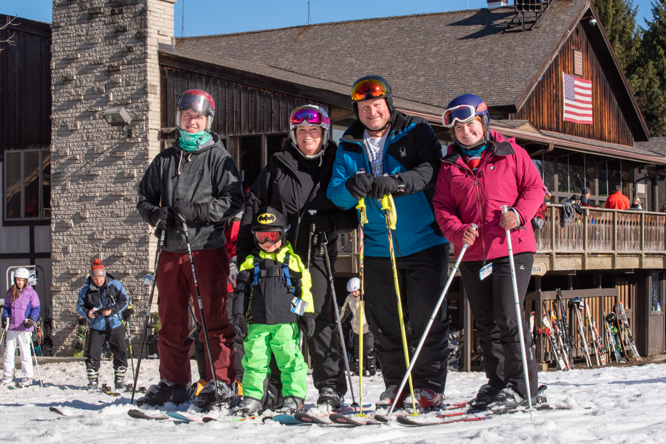Family Day on the Slopes at Snow Trails