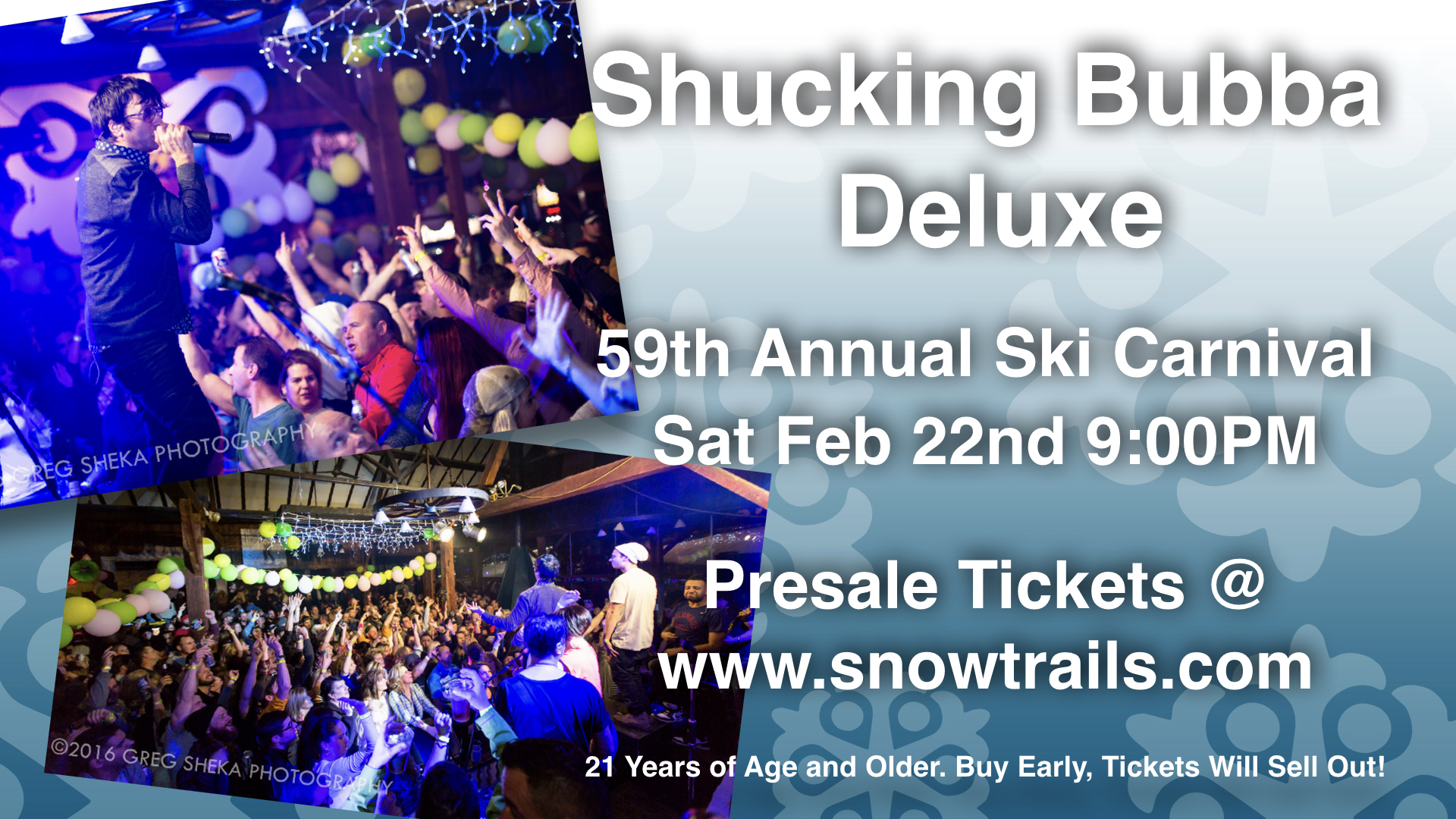 Shucking Bubba on 2-22-20 @ 9PM