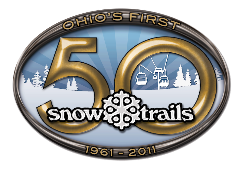 Snow Trails 50th Anniversary Logo 1961-2011