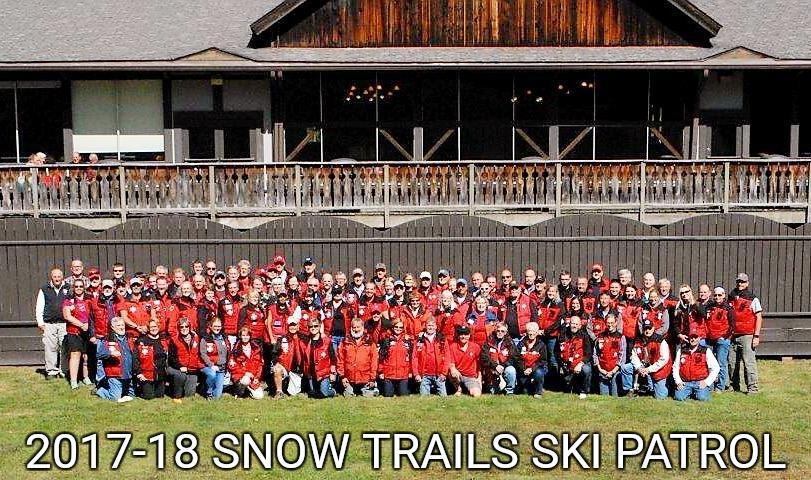 Snow Trails Ski Patrol 2017-18 Members