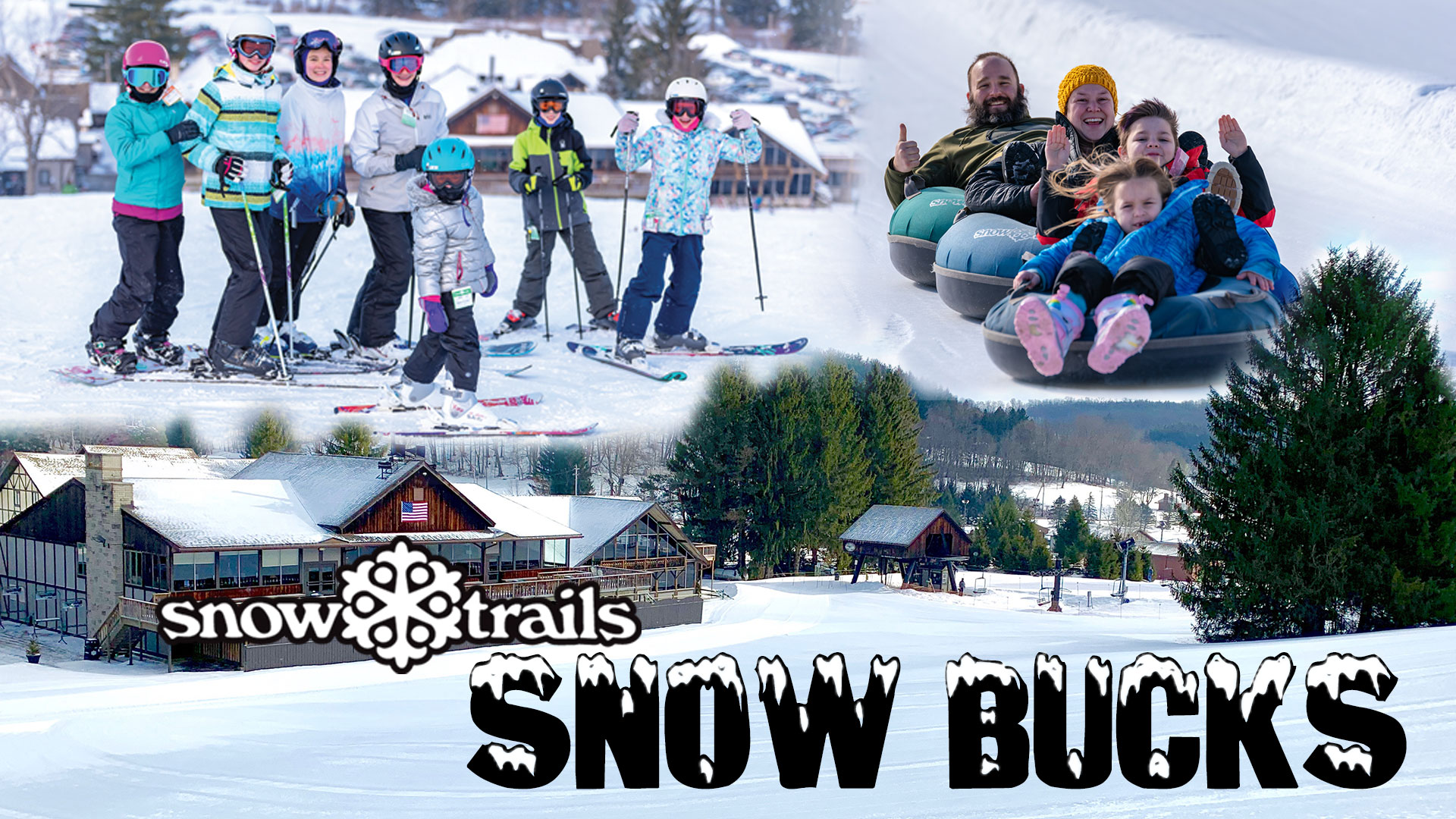 Snow Bucks Gift Cards to Snow Trails