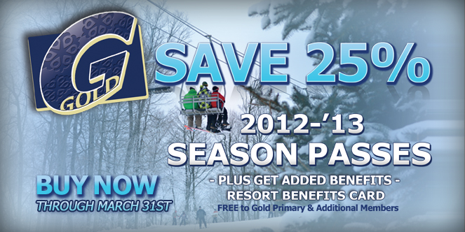 Snow Trails Gold Pass Now On-Sale