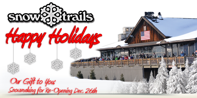 Happy Holidays from Snow Trails
