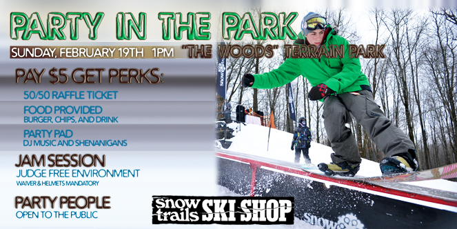 Party In The Park at Snow Trails