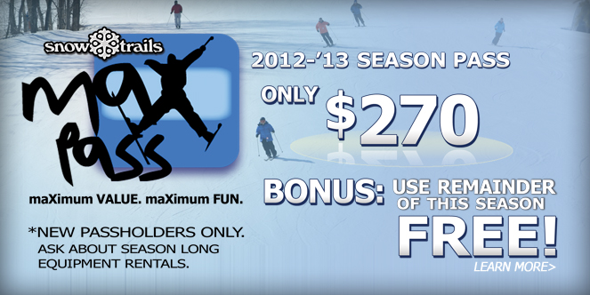 Ski the Remainder of This Season FREE!
