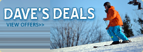 Dave's Deals Save Up To 50% on Lift Tickets