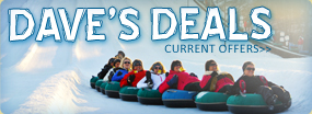 Dave's Deals Save Up To 50% on Snow Tubing