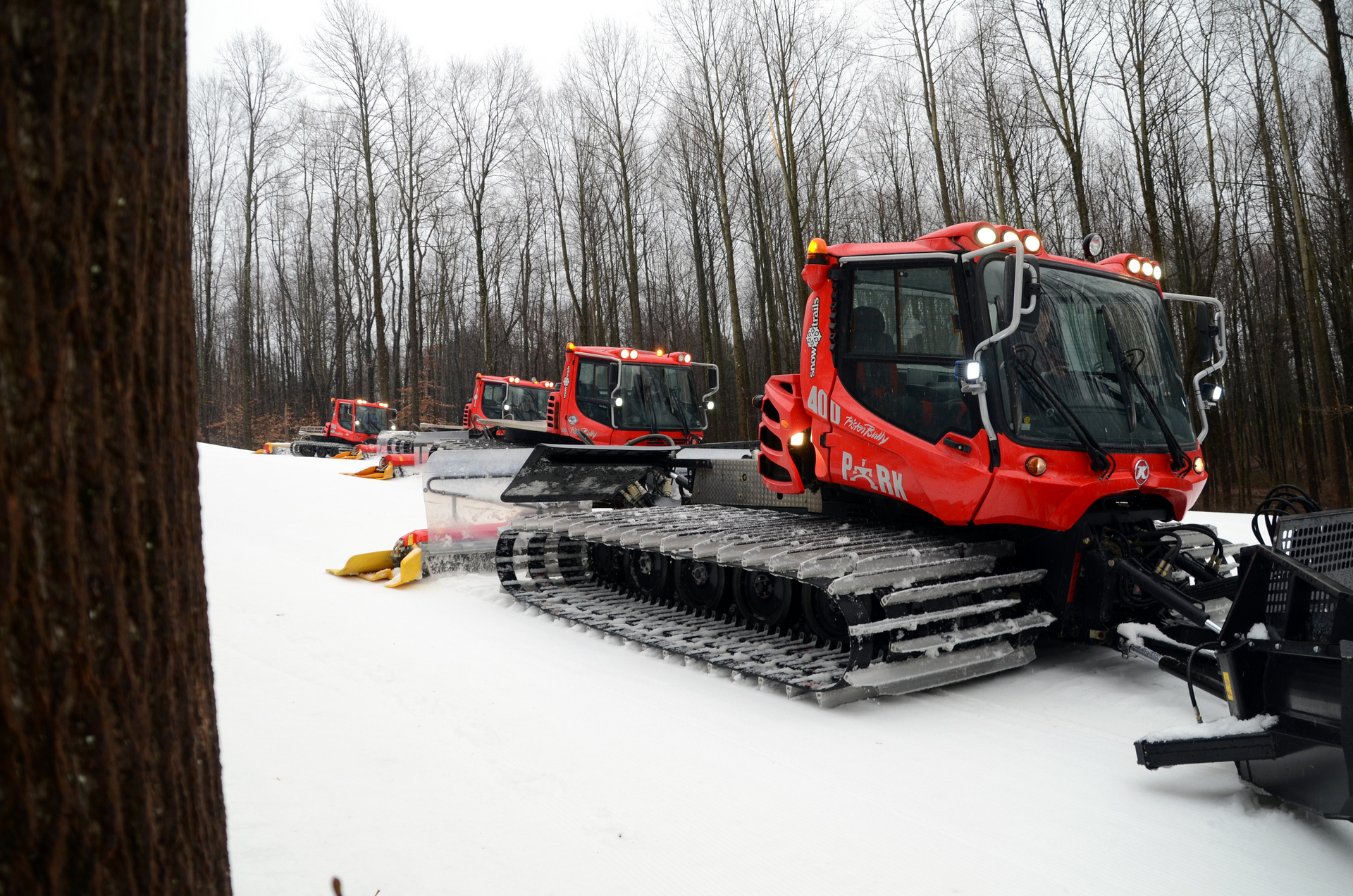 Snow Trails Snowmaking and Pisten Bully Snow Cat Grooming Fleet