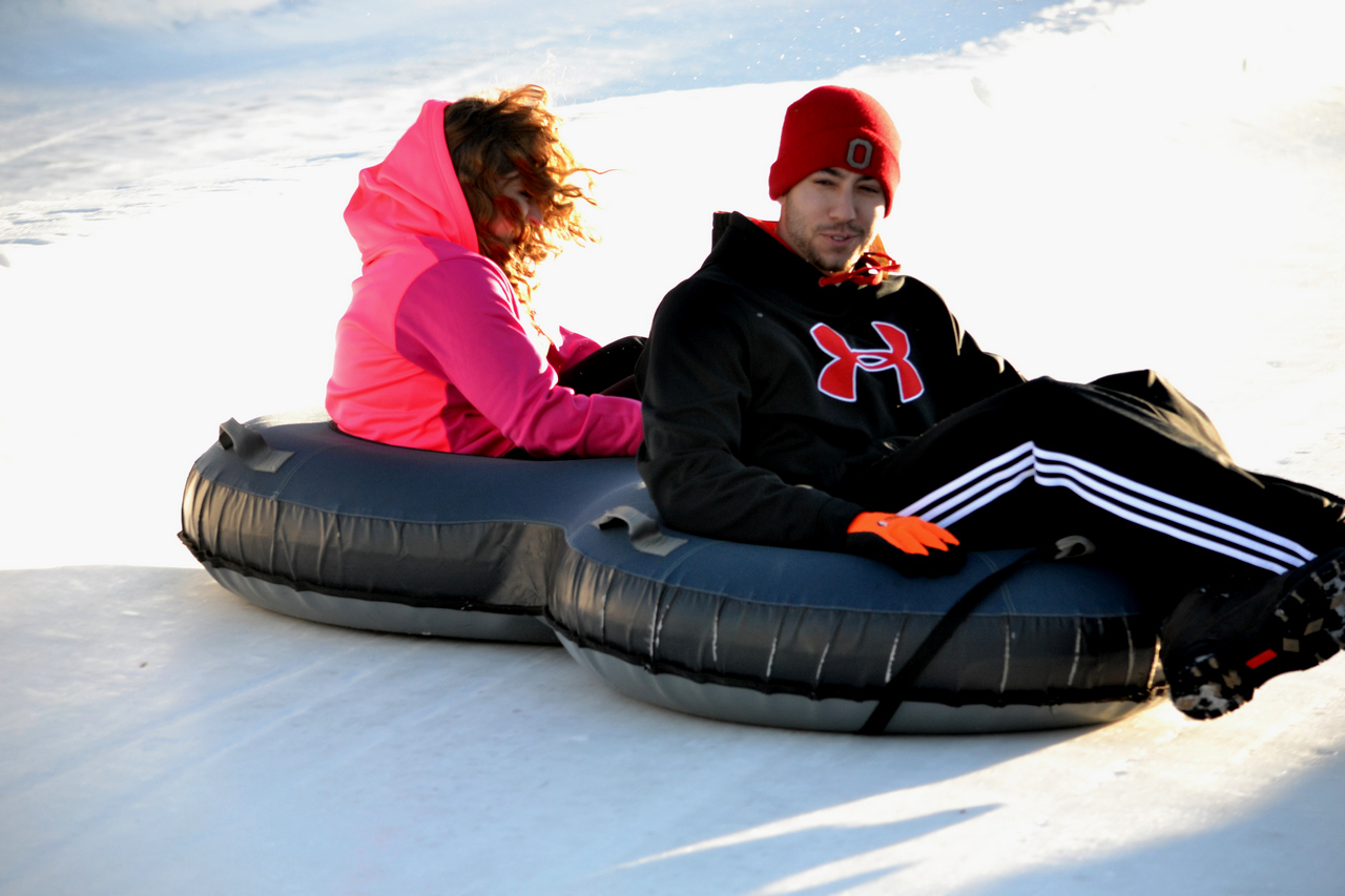 Snow Trails Snow Tubing Double Adult Tube