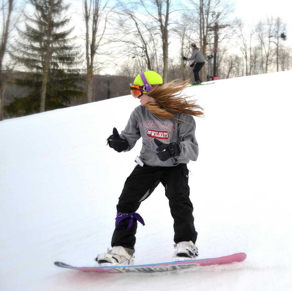 snowboard in ohio