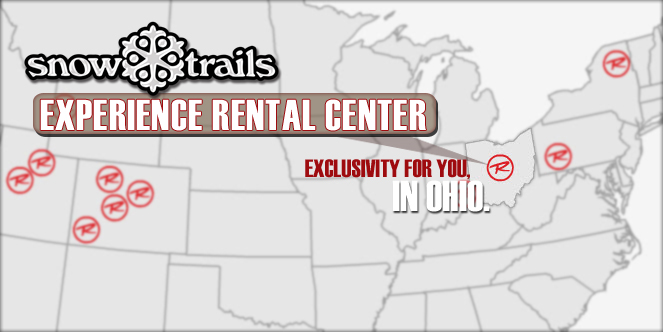 Experience Rental Center at Snow Trails, Exclusivity in Ohio