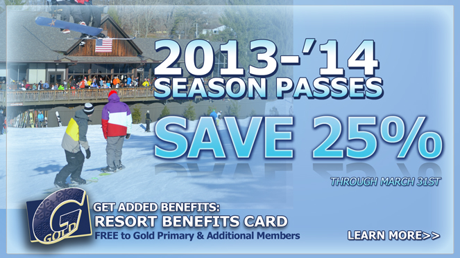 Save 25% on Select Snow Trails Season Passes