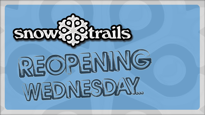Reopening Wednesday, January 8th