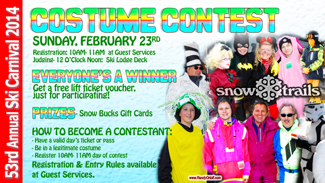 53rd Annual Winter Ski Carnival at Snow Trails- Guest Carnival Costume Contest