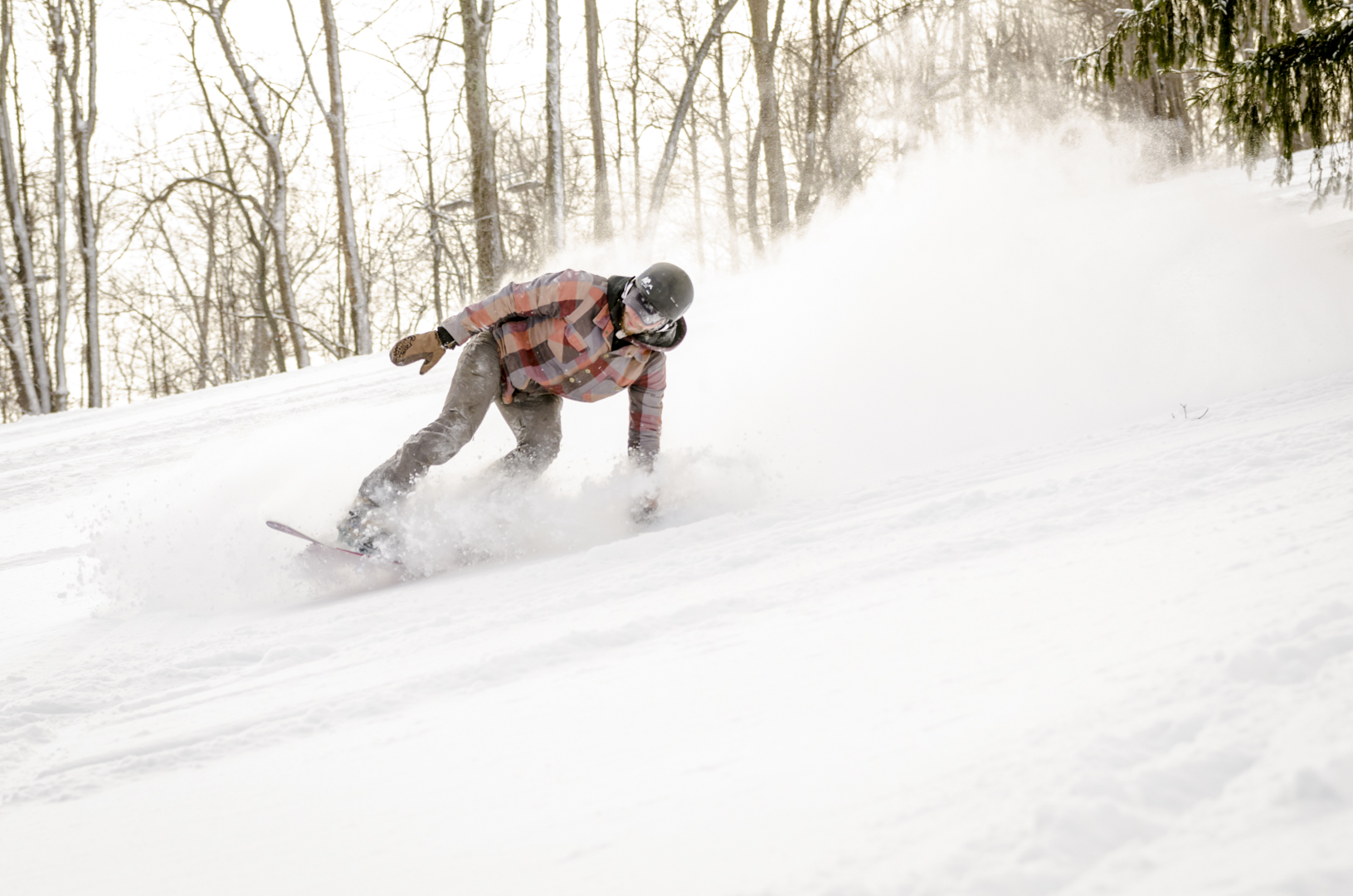 Ohio Powder Day at Snow Trails