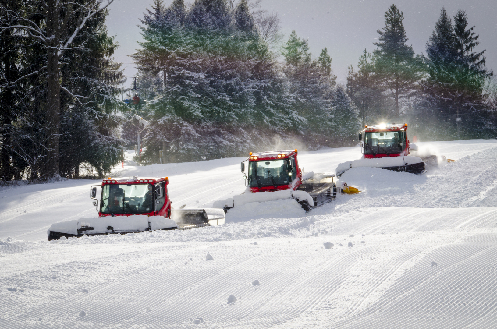 Experience the Snowmaking and Grooming Difference at Snow Trails