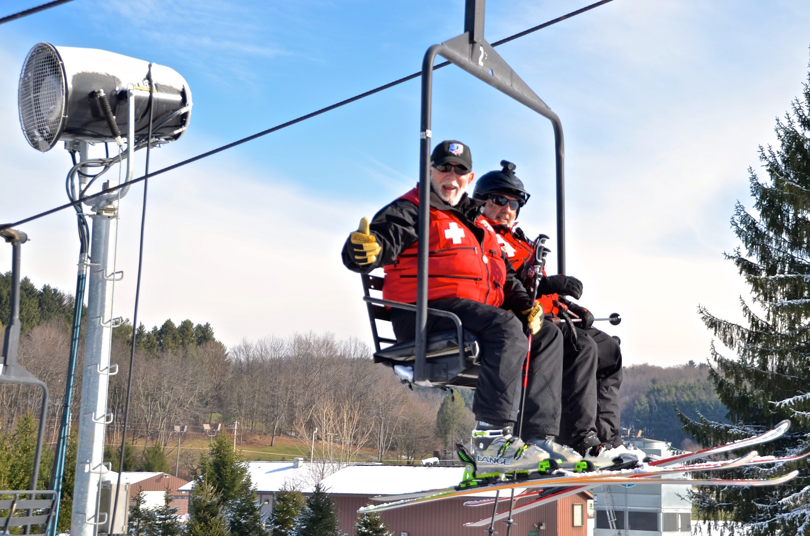 Ski Patrollers 50 Years of Service