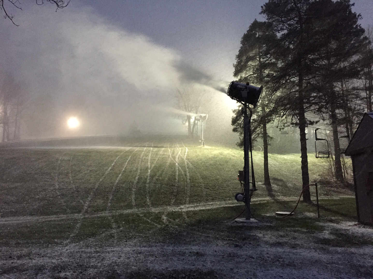 Snow Trails Snowmaking Commences: 2014 Earliest in History