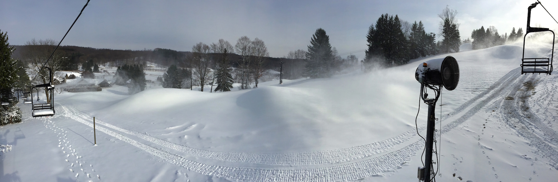 Snow Trails Snowmaking Campaign Breaking Records
