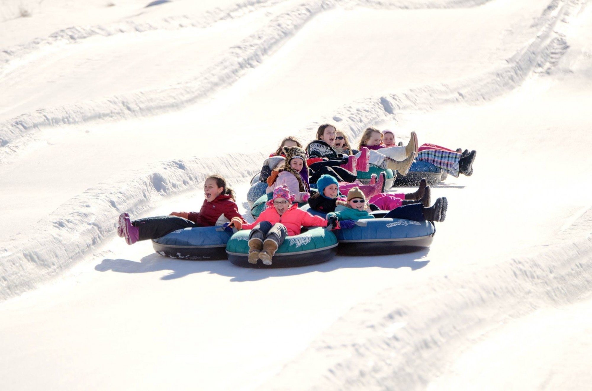Snow Tubing at Snow Trails
