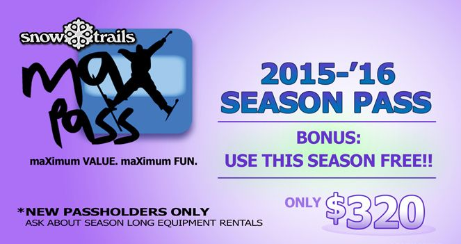 Ski This Season FREE w/maXpass