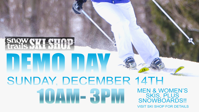 Snow Trails Ski Shop Demo Day