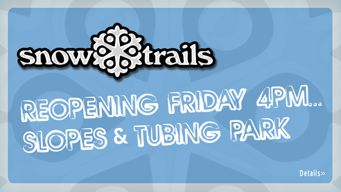Reopening This Friday, December 5th