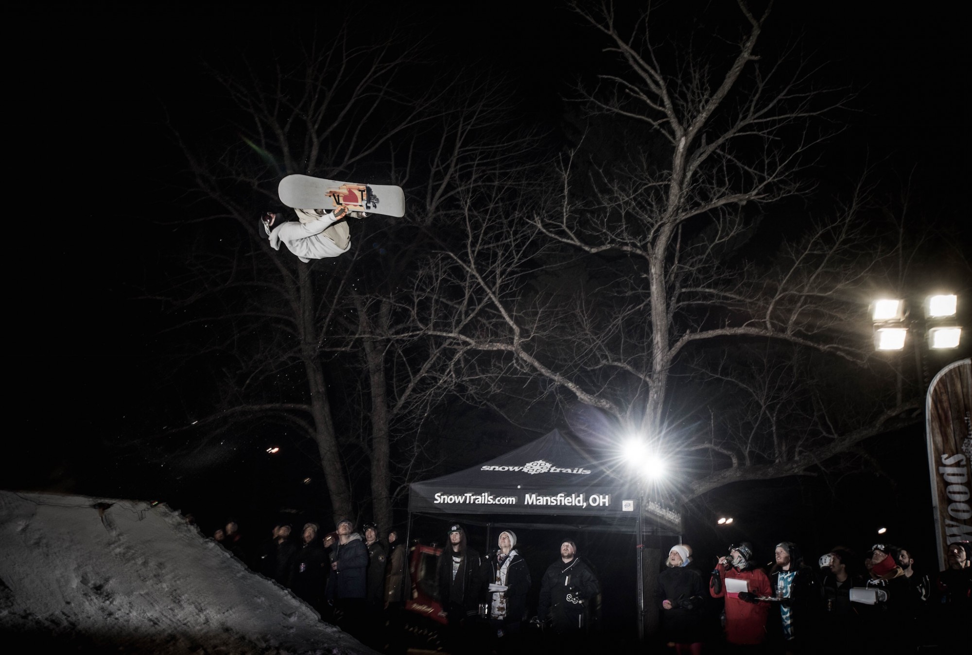 Big Air Competition at Snow Trails