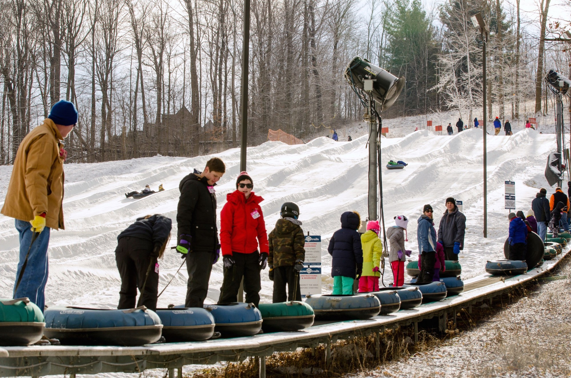Tubing Park 10th Anniversary Opening Day