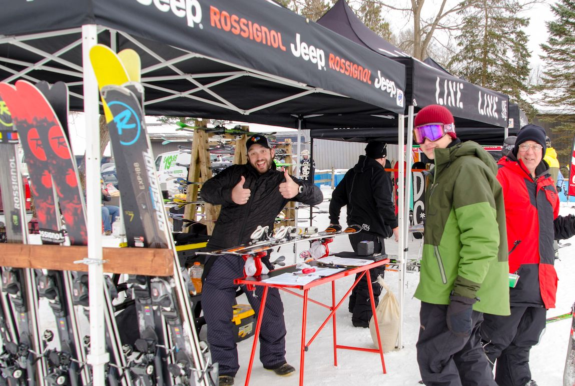 Rossignol Demo Day at Snow Trails