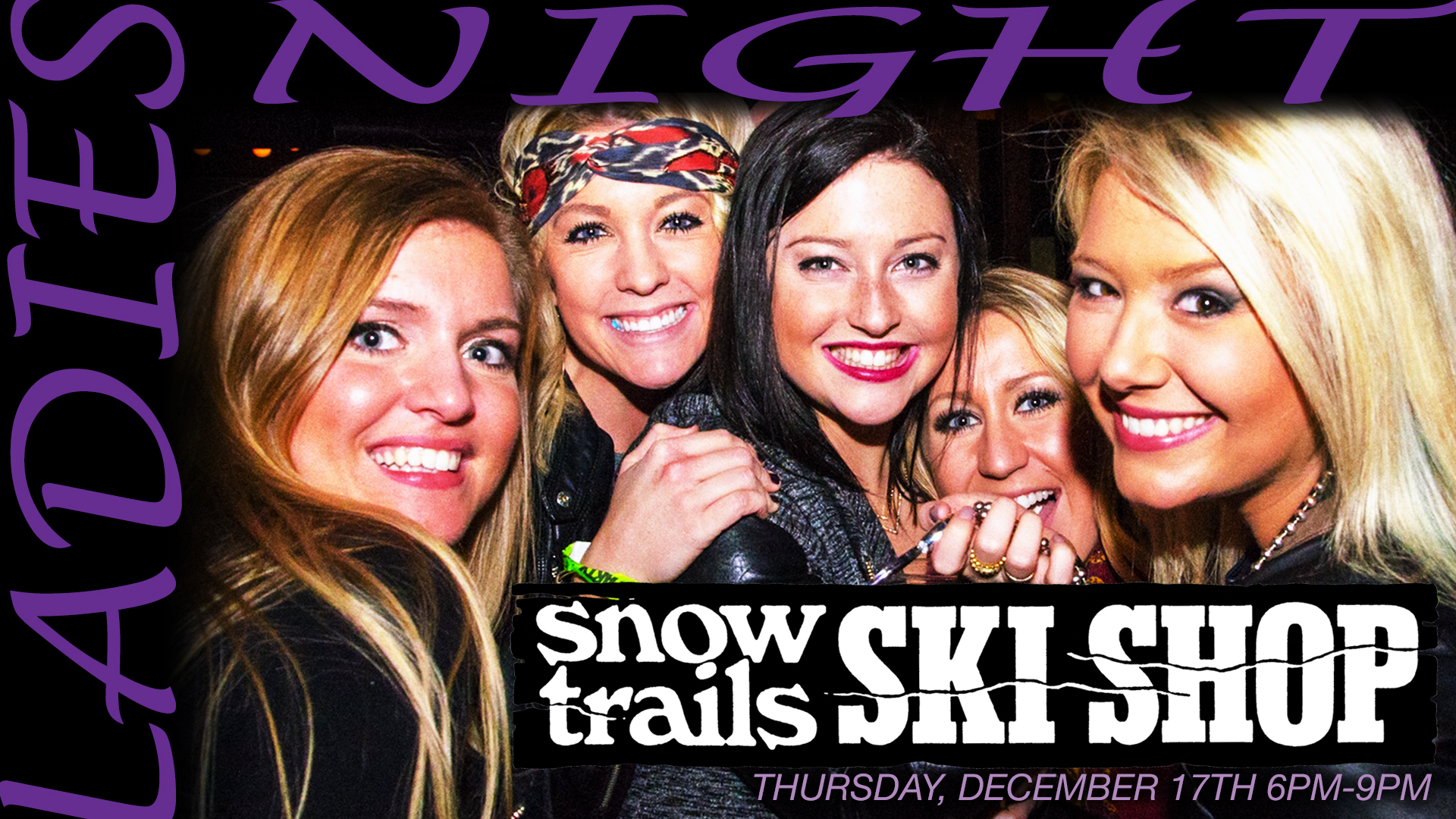 Ladies Night at Snow Trails Ski Shop