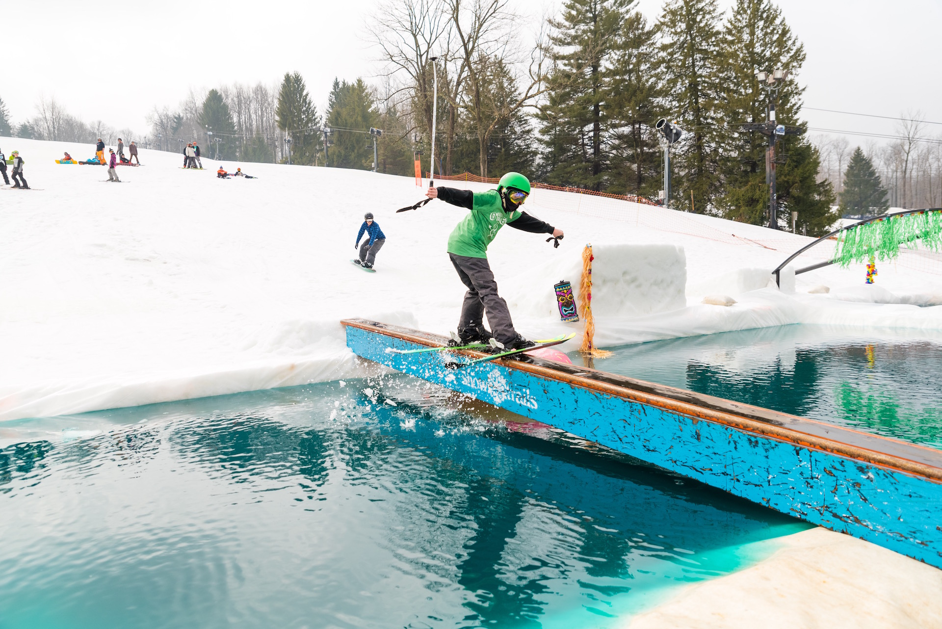 Snow Trails Pool Party Jam 2015