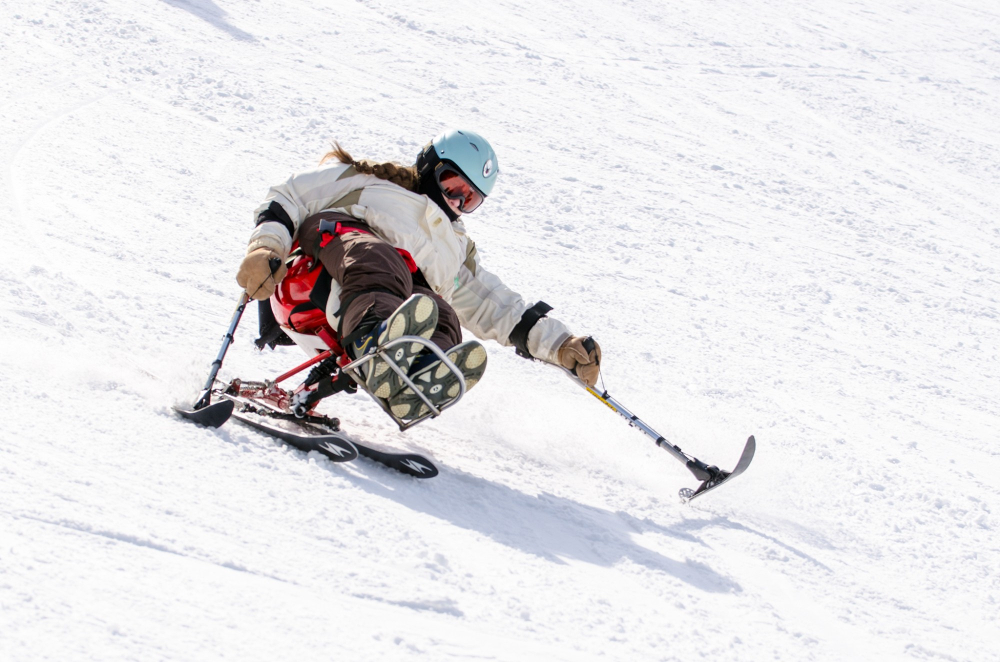 The Adaptive Adventure Sports Coalition at Snow Trails