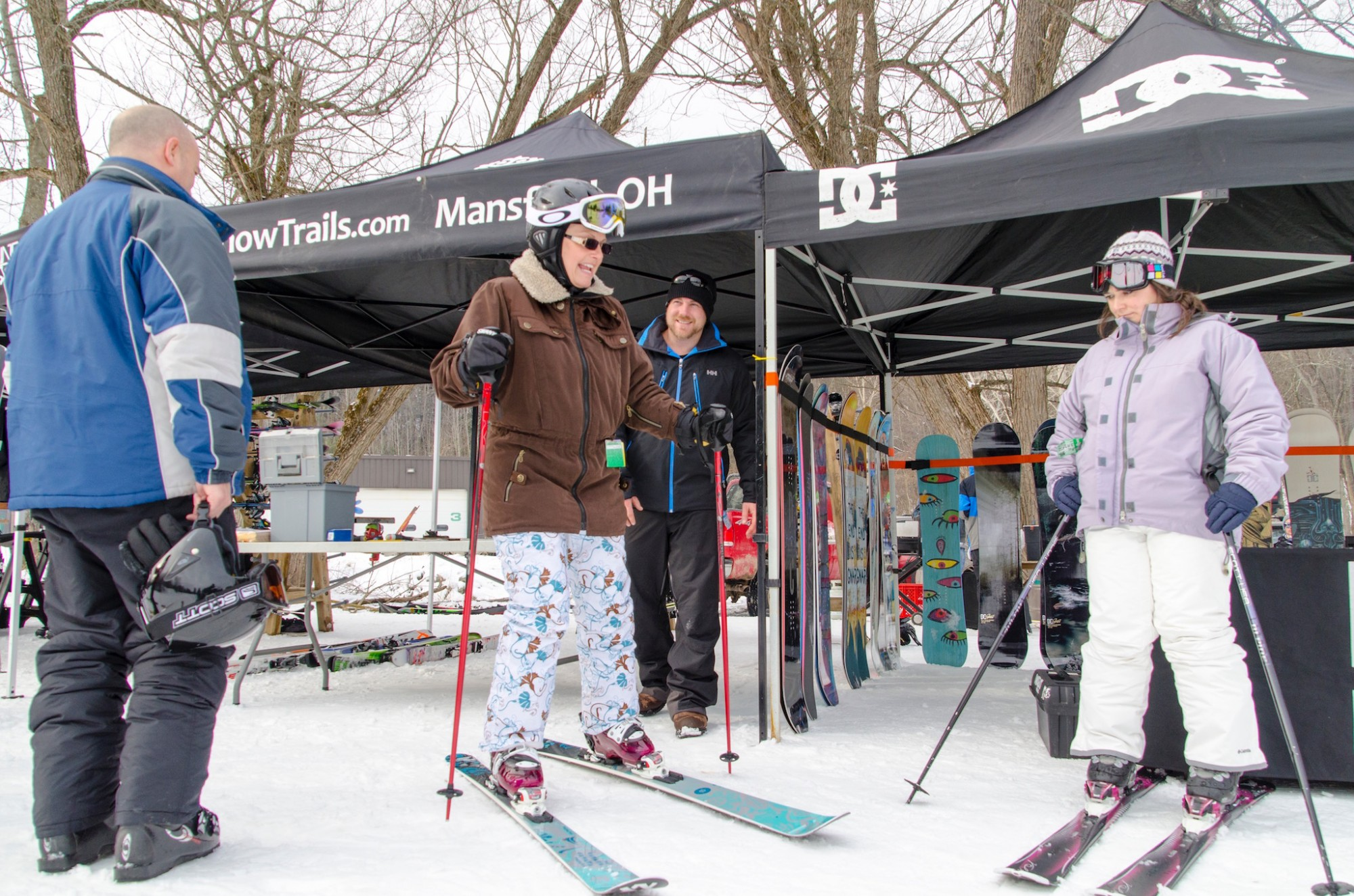 Snow Trails Ski Shop Demo Day with Ski Industry Brand Reps