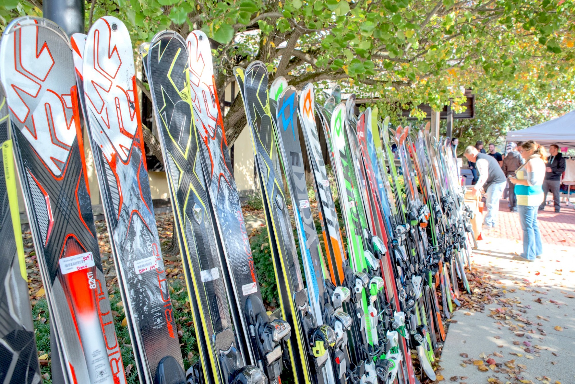 Great Deals on Skis at Snow Trails Ski Patrol Swap Weekend