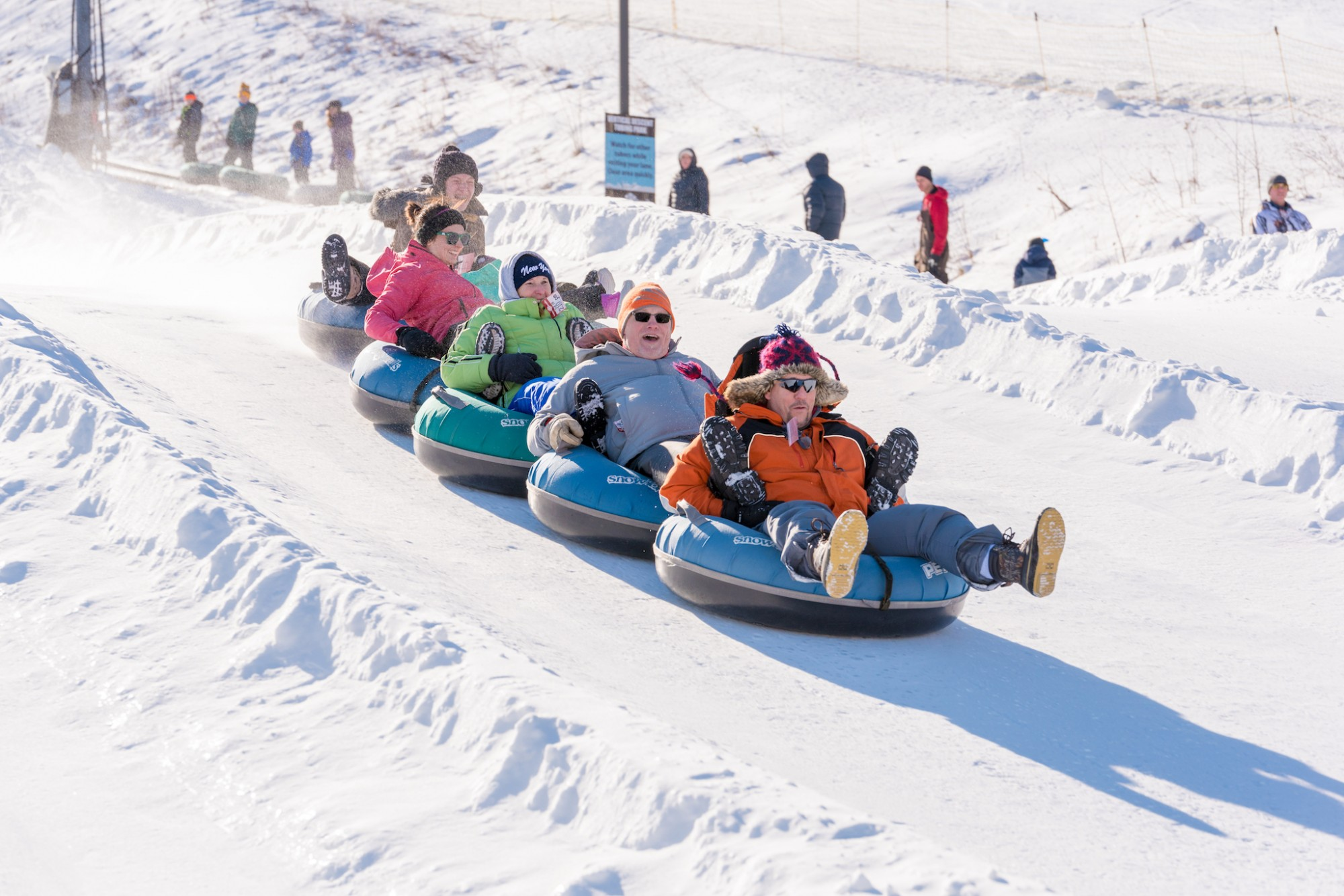 Tubing Park Opening Day December 16th