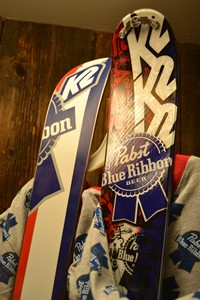 College Day K2 PBR Brewskis at Snow Trails