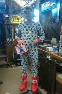 College Day PBR PJs at Snow Trails