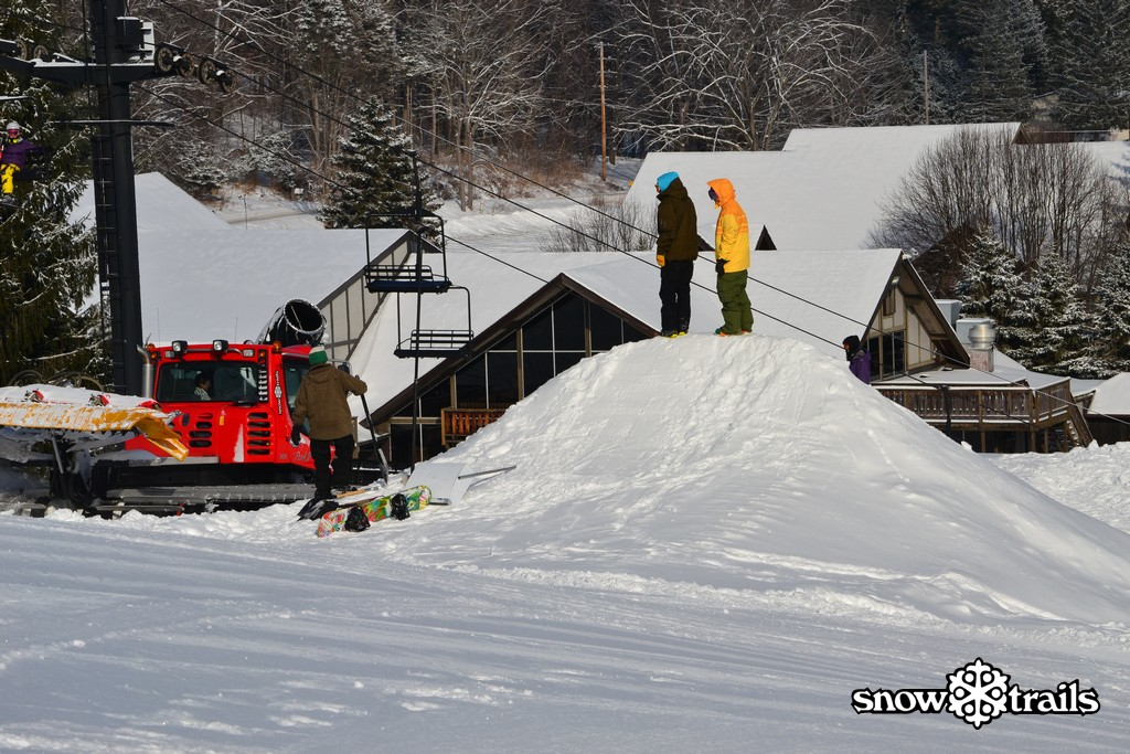 Snow Trails Big Air Competition Prep