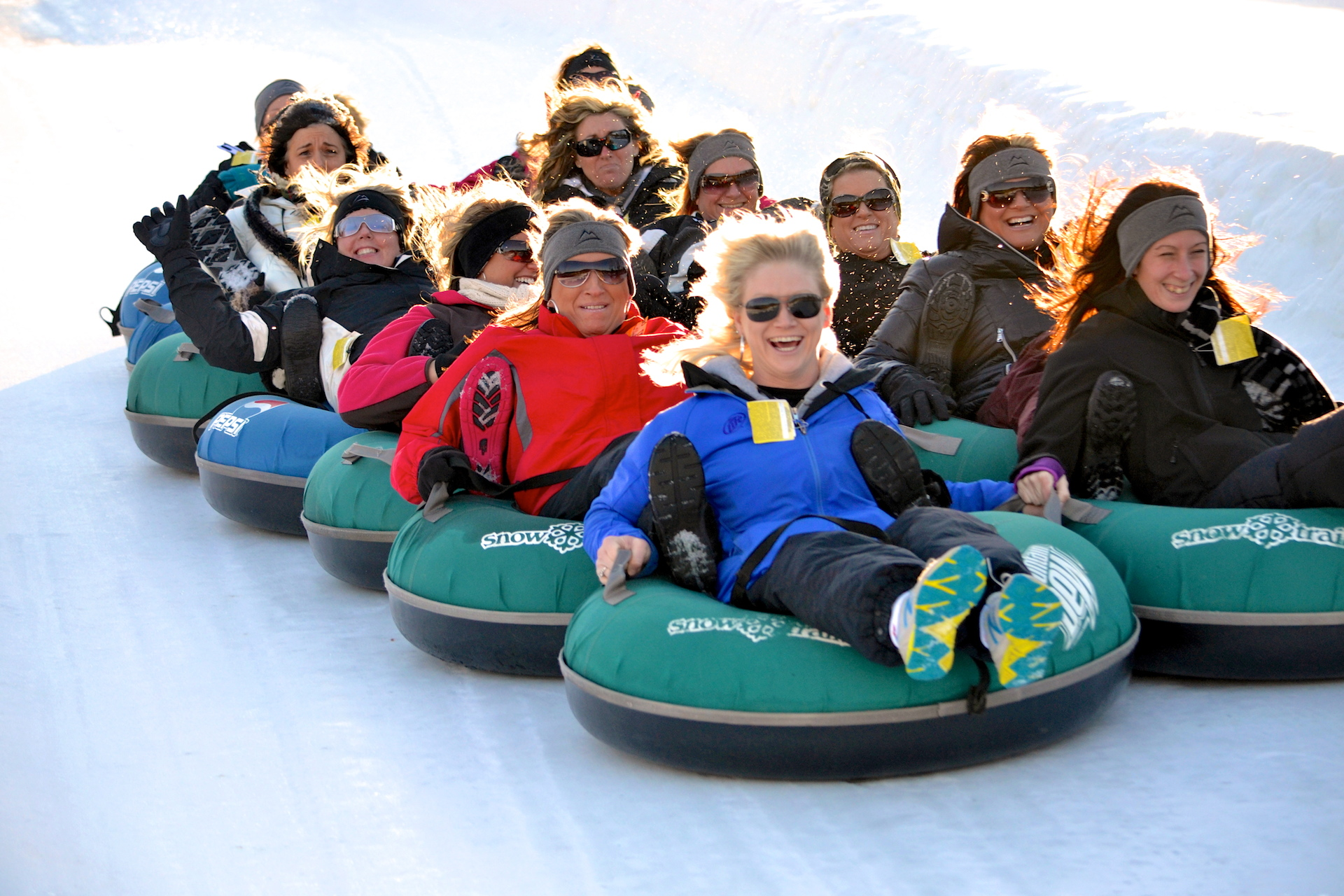 Longest-Tubing-Lanes-In-Ohio-at-Snow-Trails