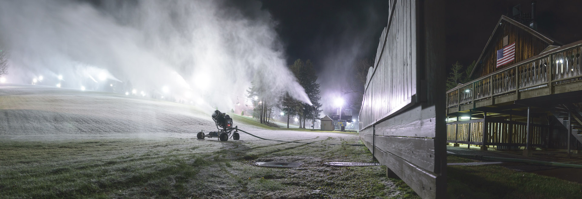 Snow Trails to Begin Earliest Snowmaking Campaign in the Resort's History