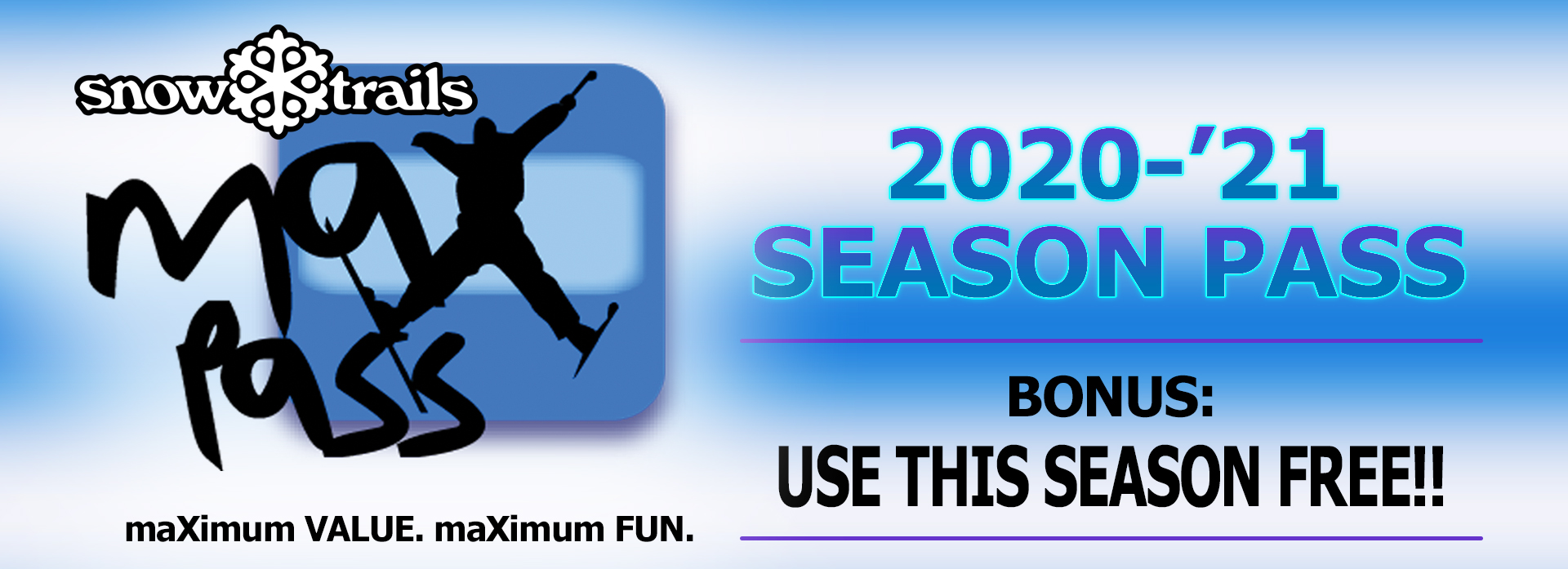 MAXPASS - BONUS: USE THIS SEASON FREE