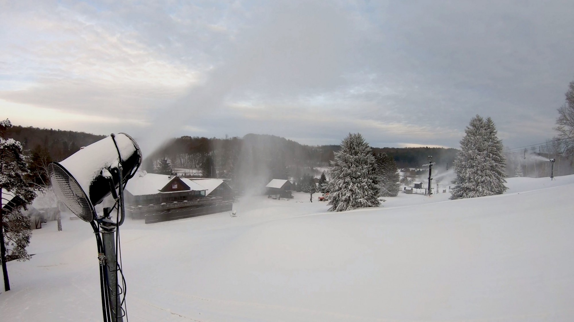 Snow Trails Earliest Ski Season Opening in Recorded History