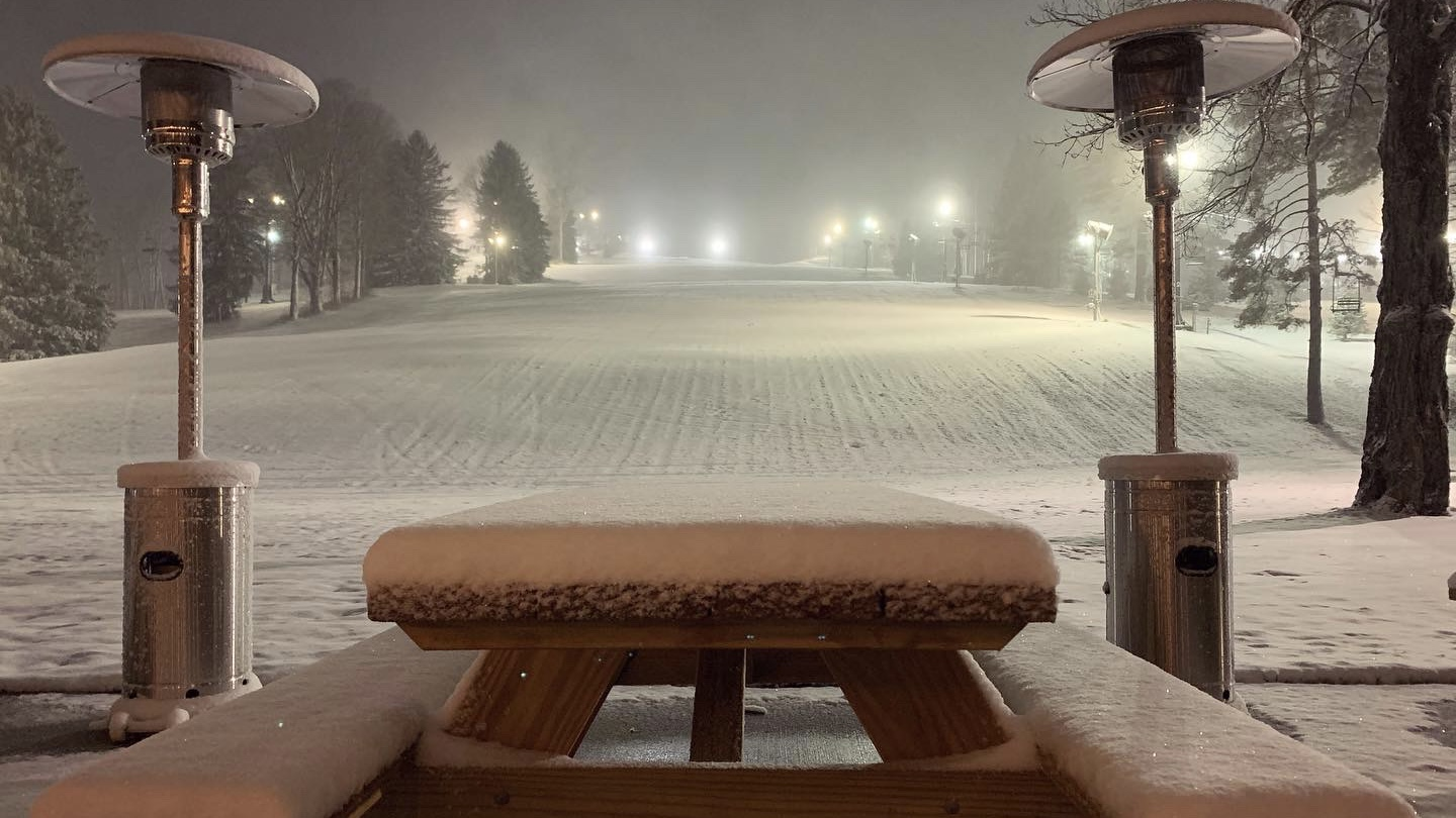 Natural Snowfall piles up at Snow Trails on November 30th 2020