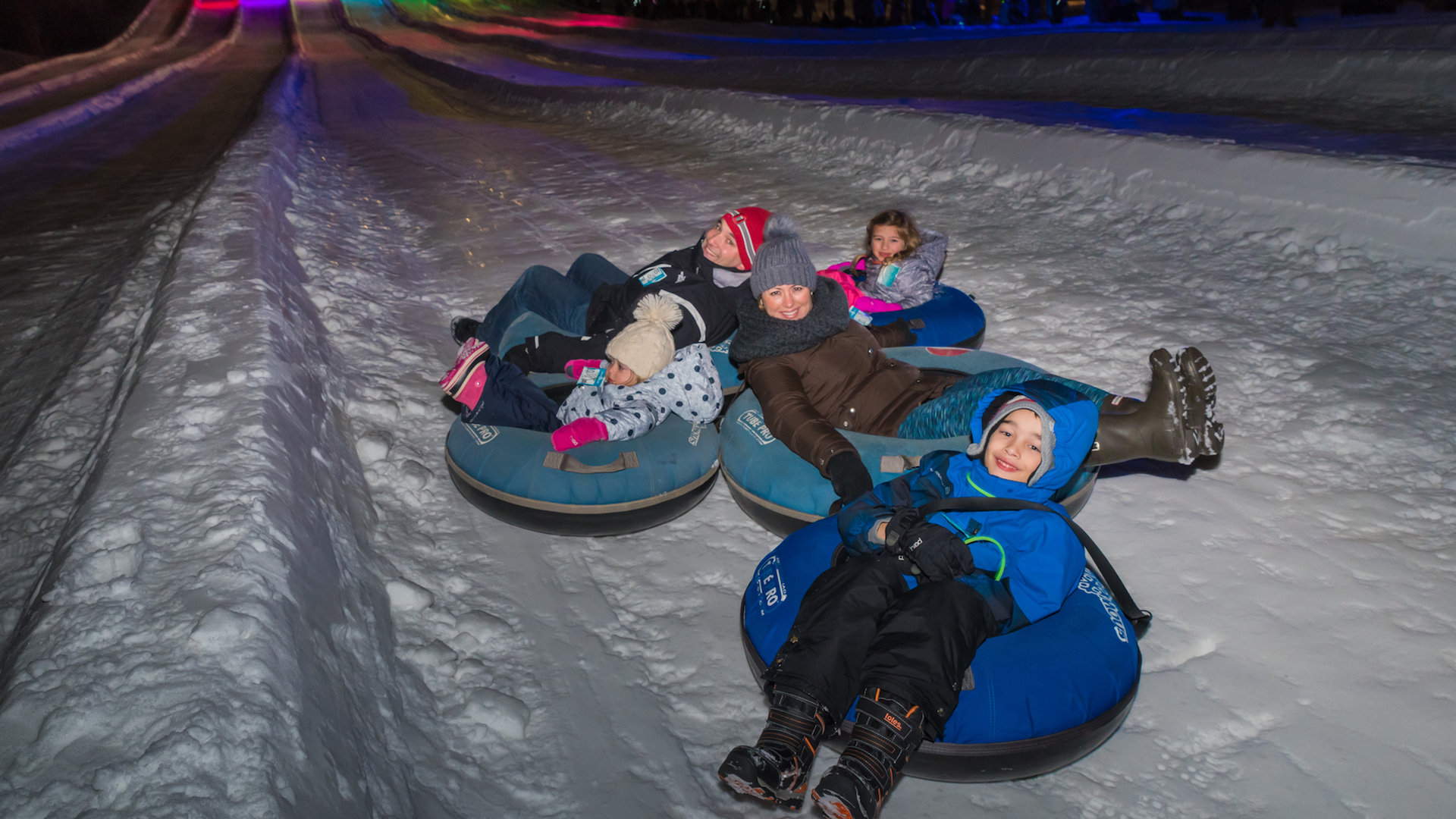 New Year's Eve Tubing Special at Vertical Descent Tubing Park at Snow Trails